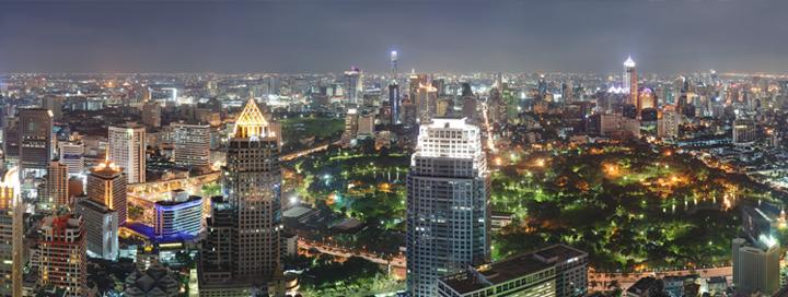 Bangkok v Thajsku patří mezi nejkrásnější místa světa