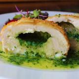 Recept na brokolicové pyré v kuřecí kapse