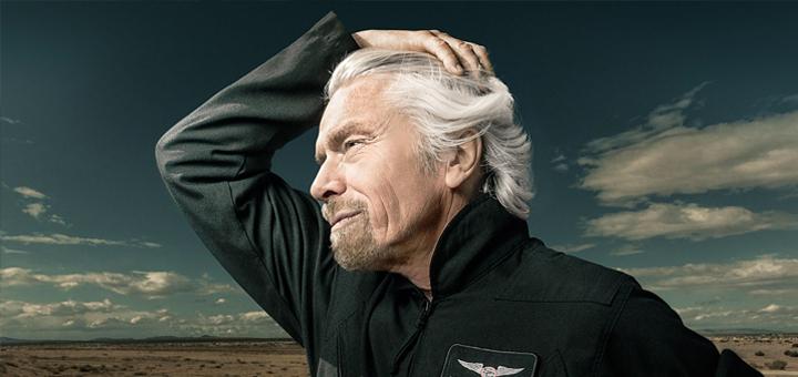 Richard Branson je ikonou soudobého podnikání