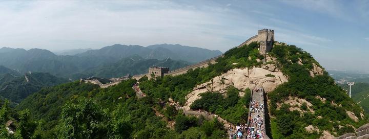 Velká čínská zeď paří mezi nejkrásnější místa světa