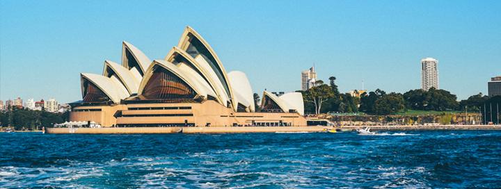 Austrálie a jeho největší město Sydney