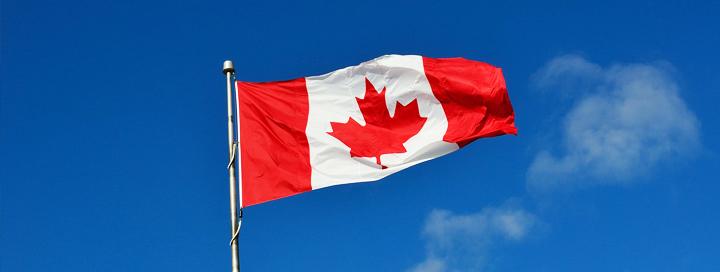 Kanada a její vlajka