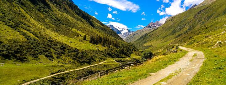 Rakousko a jeho nádherné hory