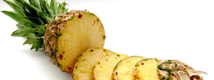 Detoxikace organismu pomocí ananasu.