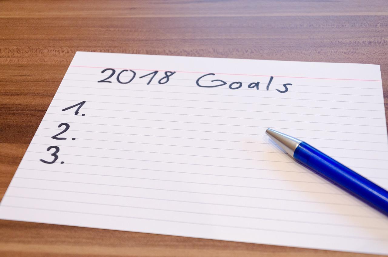 novoroční předsevzetí, cíle, jak dodržet