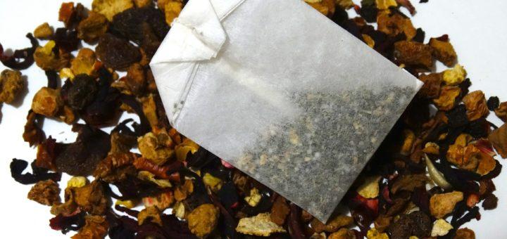 Ovocný čaj v sáčku a směr čaje