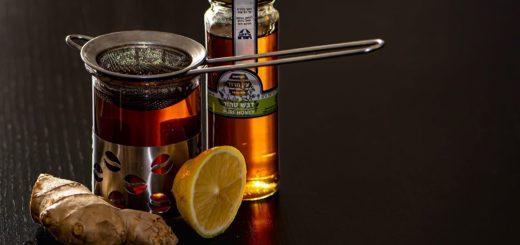 Zázvor, citrón, horký čaj - imunita